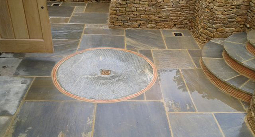 Self Faced Yorkstone Thin Paving