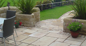 Whitby Indian Sandstone paving 5