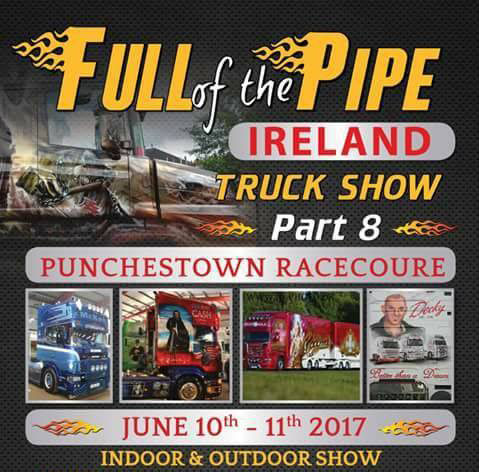 Full Of The Pipe Truck Show 2017