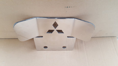 Mitsubishi Tow Bar Protection Plate