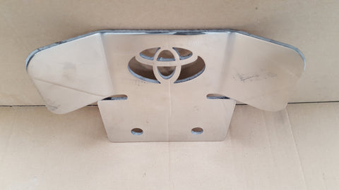 Toyota Tow Bar Protection Plate
