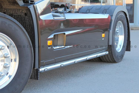 Volvo Fh Side Bars With Led Marker Lights Metec 862345