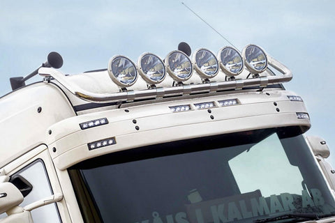 Scania R Series Roof Bar 2009 - 2016 wired with clamps for 6 x lamps | METEC 864158