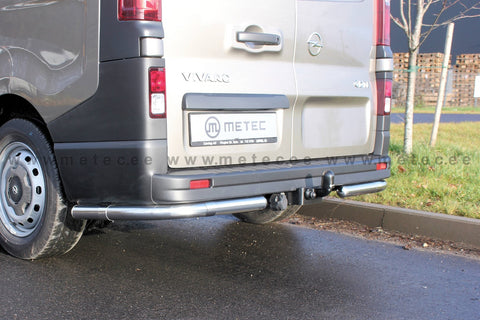 Renault Traffic Rear Bars Pair 2014 > | METEC 828480