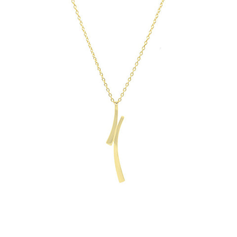 Vertical Arch Necklace