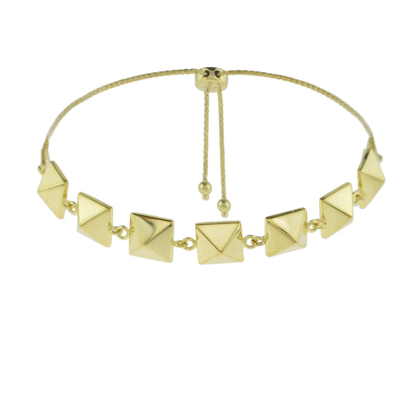 Square Pattern Adjustable Bracelet