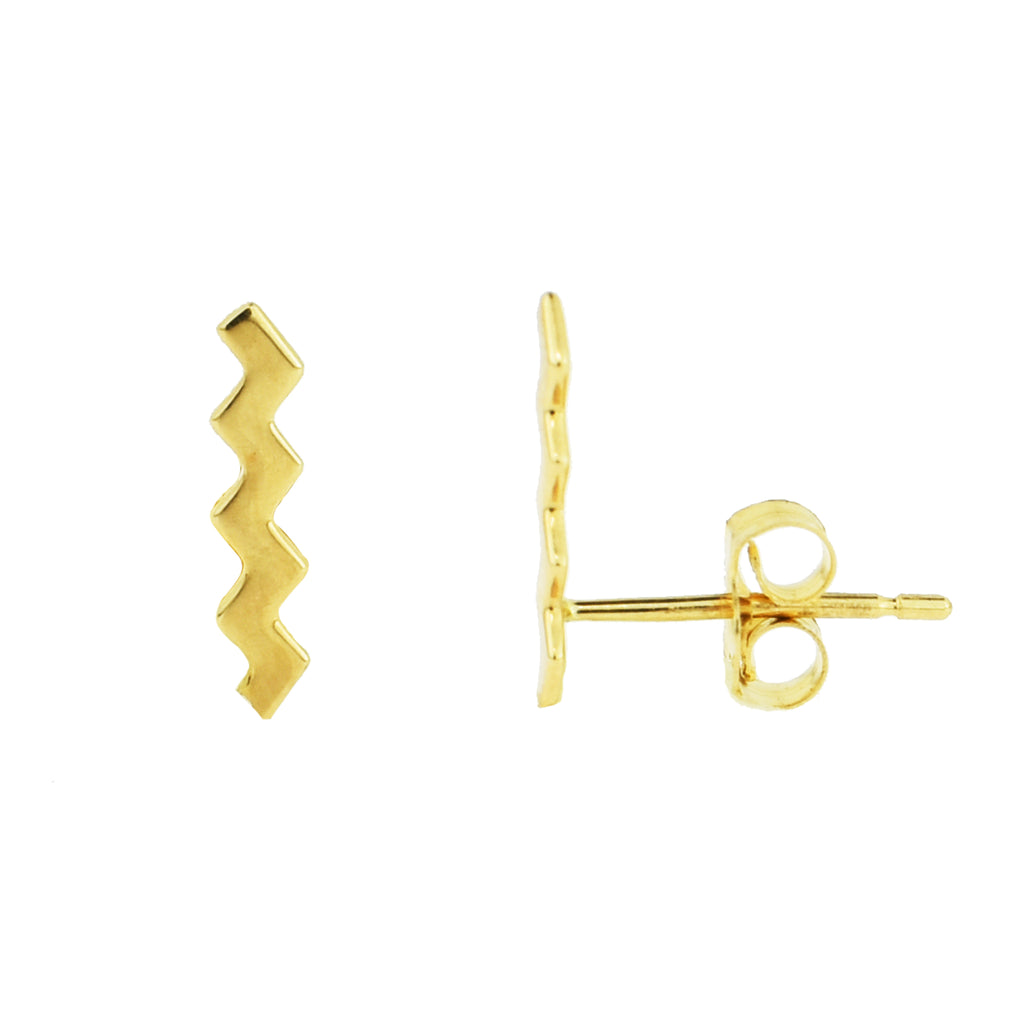 Zg Zag Earrings