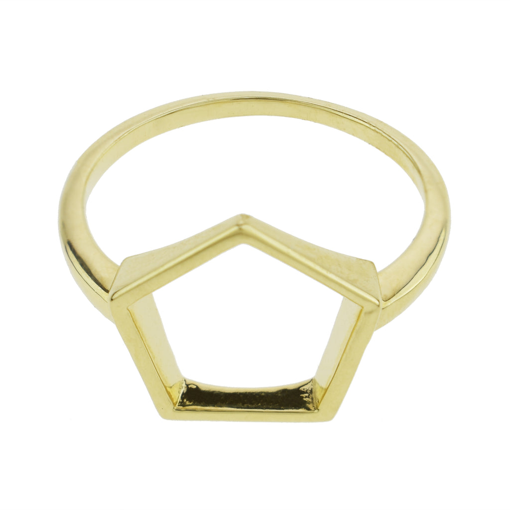 Open Pentagon Ring
