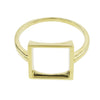 Open Square Ring