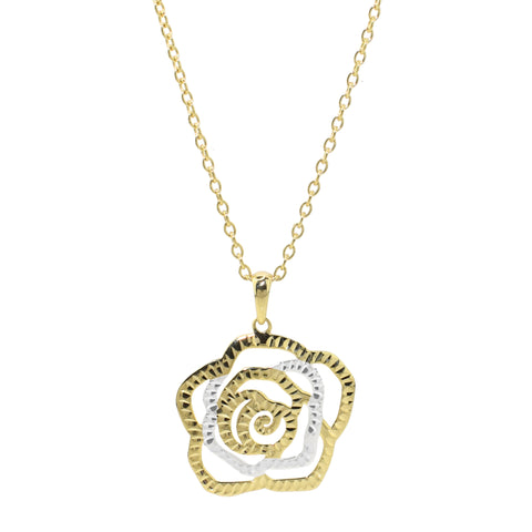 Rosé Drop Necklace