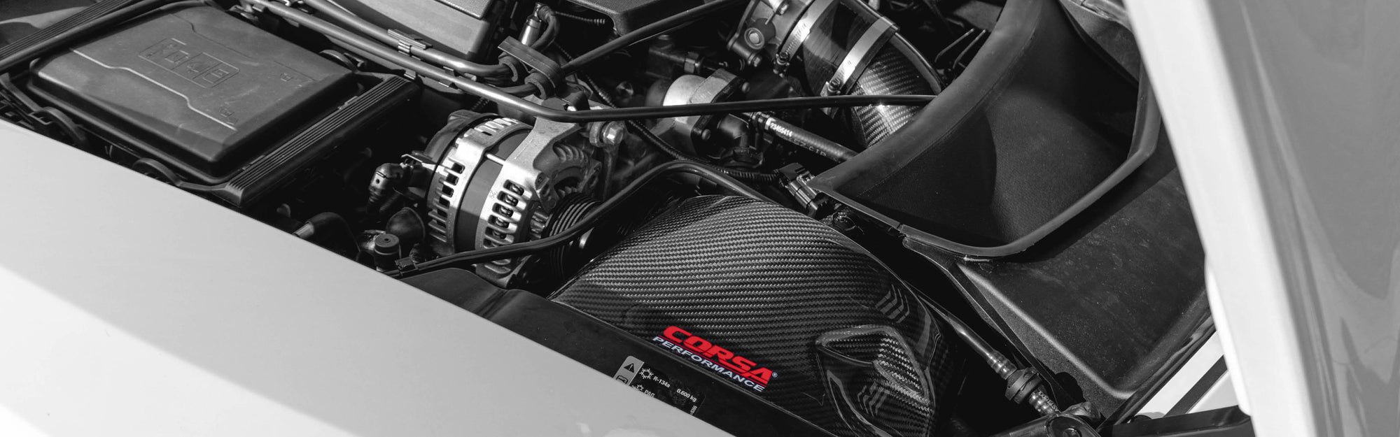 Now Shipping Carbon Fiber Cold Air Intake for Corvette C7 banner image