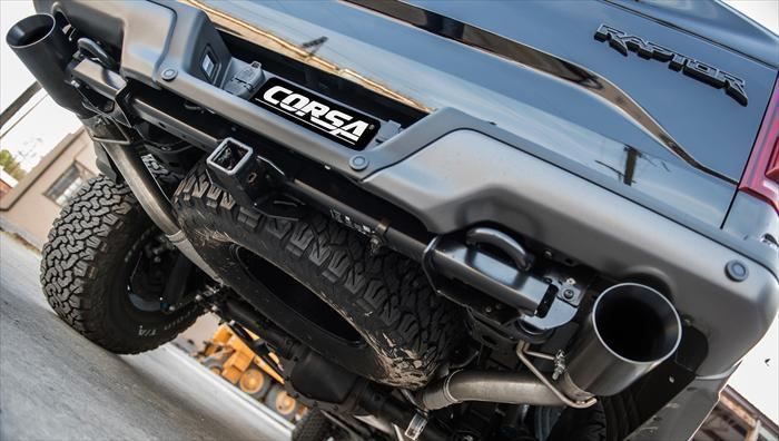 "CORSA PERFORMANCE Conversion Kit 2017-2019 Ford Raptor EcoBoost 3.0"" Axle-Pipe Conversion Kit (14399)"