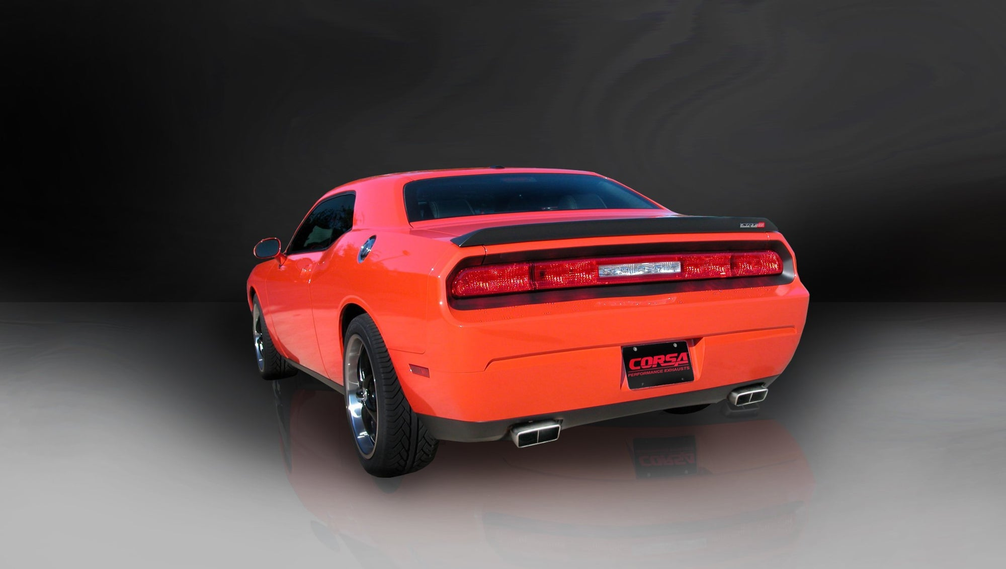 "CORSA PERFORMANCE Cat-Back Exhaust Polished / Xtreme / Dual Rear - GTX 2008-2010 Dodge Challenger SRT, 6.1L V8, 2.75"" Dual Rear Exit Cat-Back Exhaust System with GTX2 Tips (14438) Xtreme Sound Level"