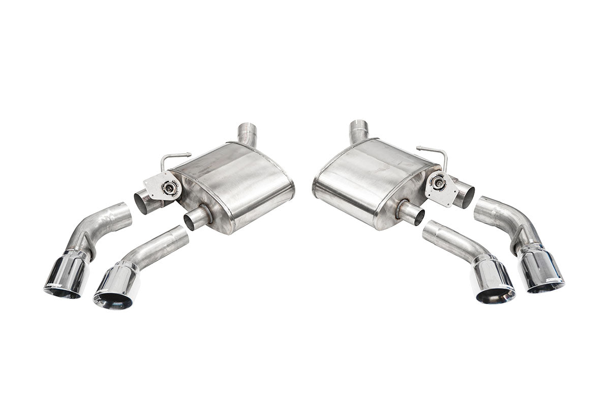Variable Sound Level (14789) 2.75 IN Axle-Back Twin 4.0 IN Tips 2016-2021 Camaro SS ZL1
