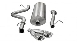 "3.0"" Single Side Exit Cat-Back Exhaust System with Twin 4.0"" Tip (14892) Sport Sound Level"