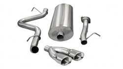 "3.0"" Single Side Exit Cat-Back Exhaust System with Twin 4.0"" Tip (14894) Sport Sound Level"