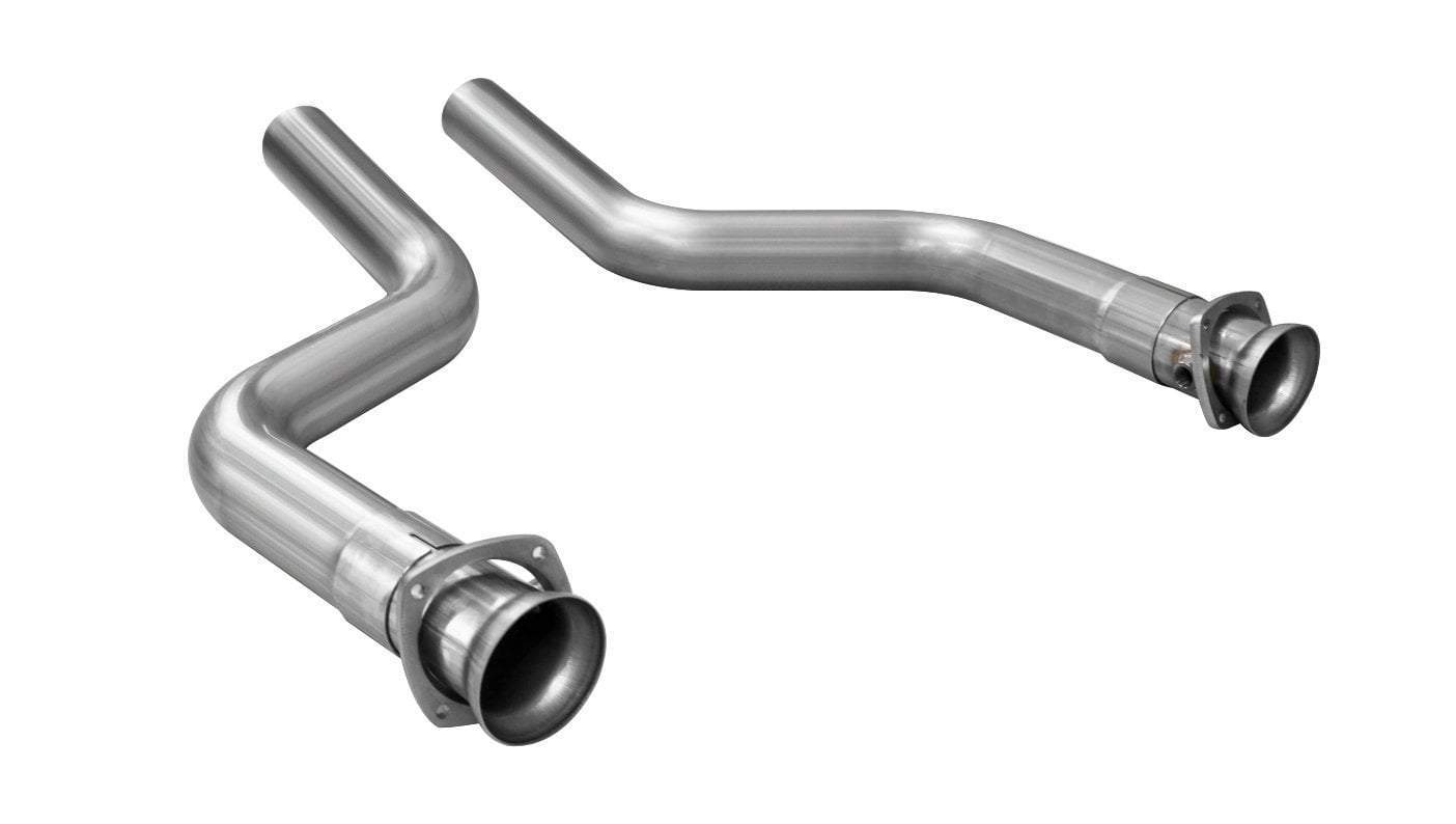 CORSA Exhaust Connection Pipes (16027) Catless 2016-2021 Camaro SS ZL1