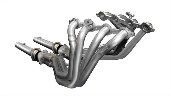 "CORSA PERFORMANCE Headers 2004 C5/ C5 Z06 Chevrolet Corvette 5.7L V8, Long Tube Headers 1.75"" x 3.0""  w/ CORSA Exhaust Connection Pipes (16102)"