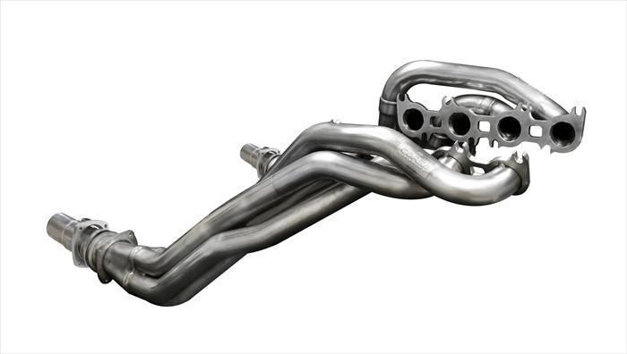 "CORSA PERFORMANCE Headers 2011-2014 Ford Mustang GT Long Tube Headers 1.875"" x 3.0"" Catless / Offroad  w/ CORSA Exhaust Connection Pipes (16116)"
