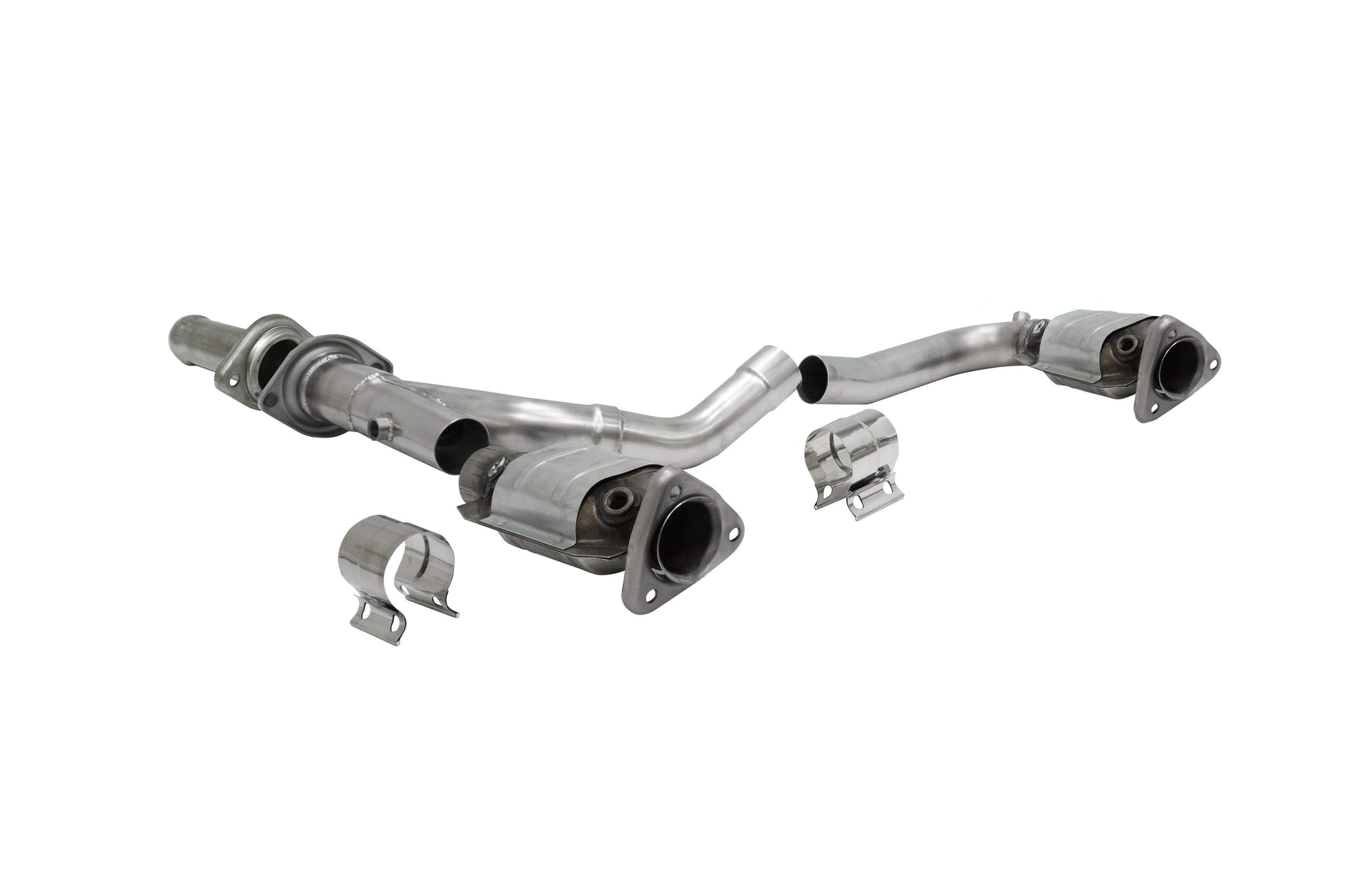 "CORSA PERFORMANCE Headers 2009-2013 Chevrolet Silverado, GMC Sierra 4.8L, 5.3L, 6.0L V8 Long Tube Headers with Catted Connection Pipes 1.75"" x 2.5""-  (16328)"