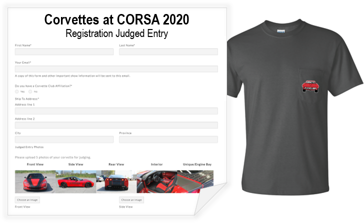 Judged Entry with Show T-Shirt (Registration Fee)
