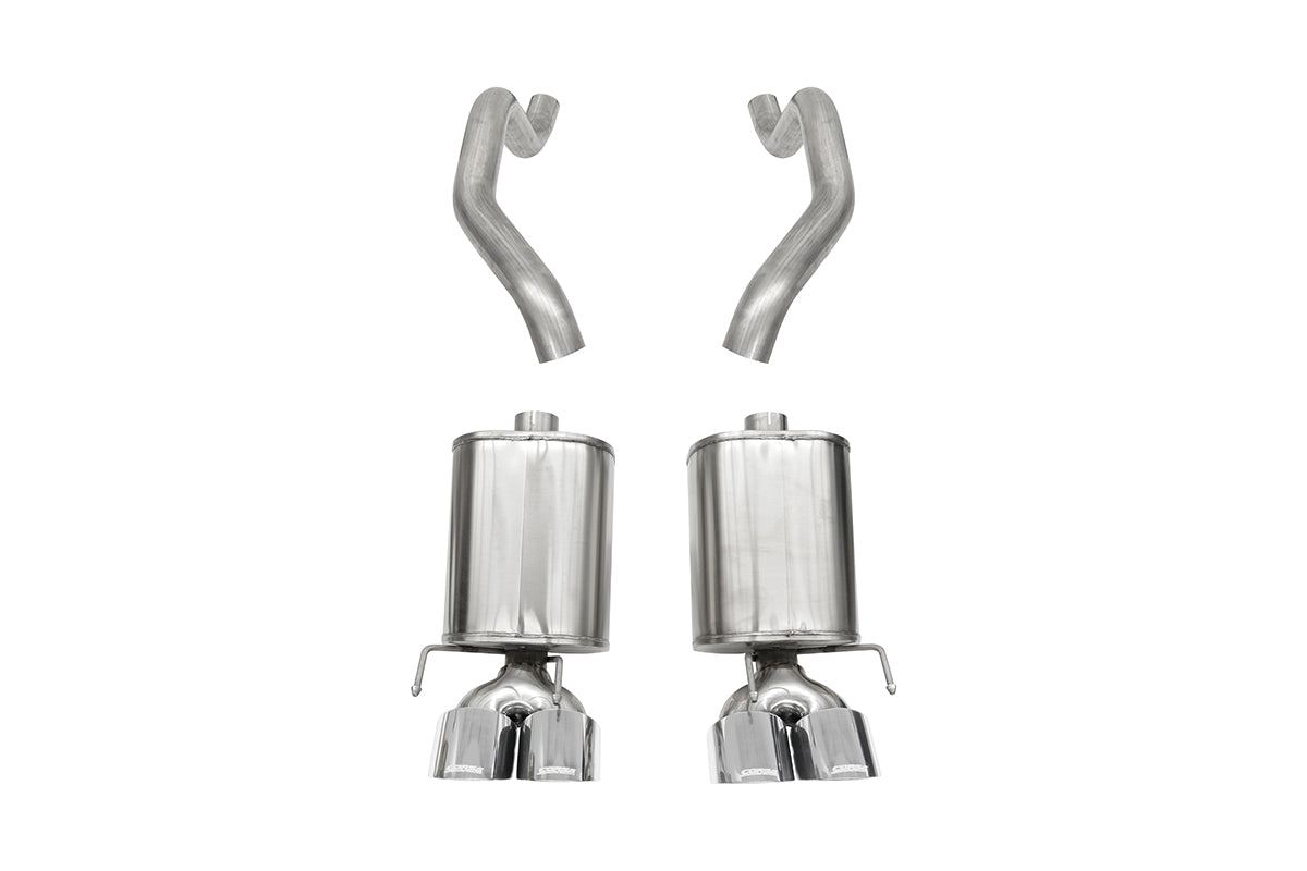 Xtreme Sound Level (21010) 2.5 IN Axle-Back Twin 4.5 IN Tips 2005-2008 Corvette C6