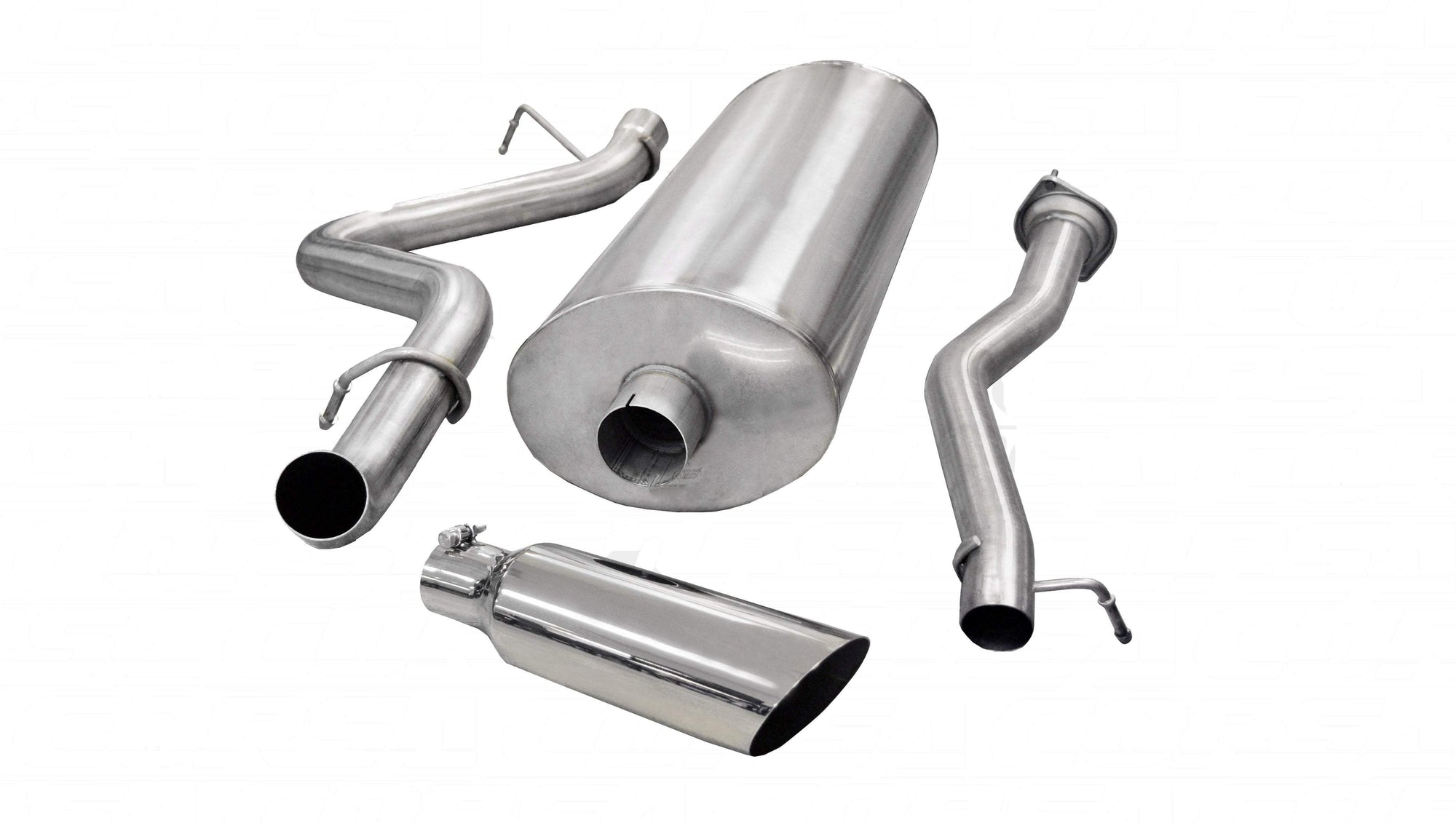 "dB Cat-Back Exhaust Polished / Sport / Single Side - Single 4in 3.0"" Single Side Exit Cat-Back Exhaust System with 4.0"" Tip (24894) Sport Sound Level"
