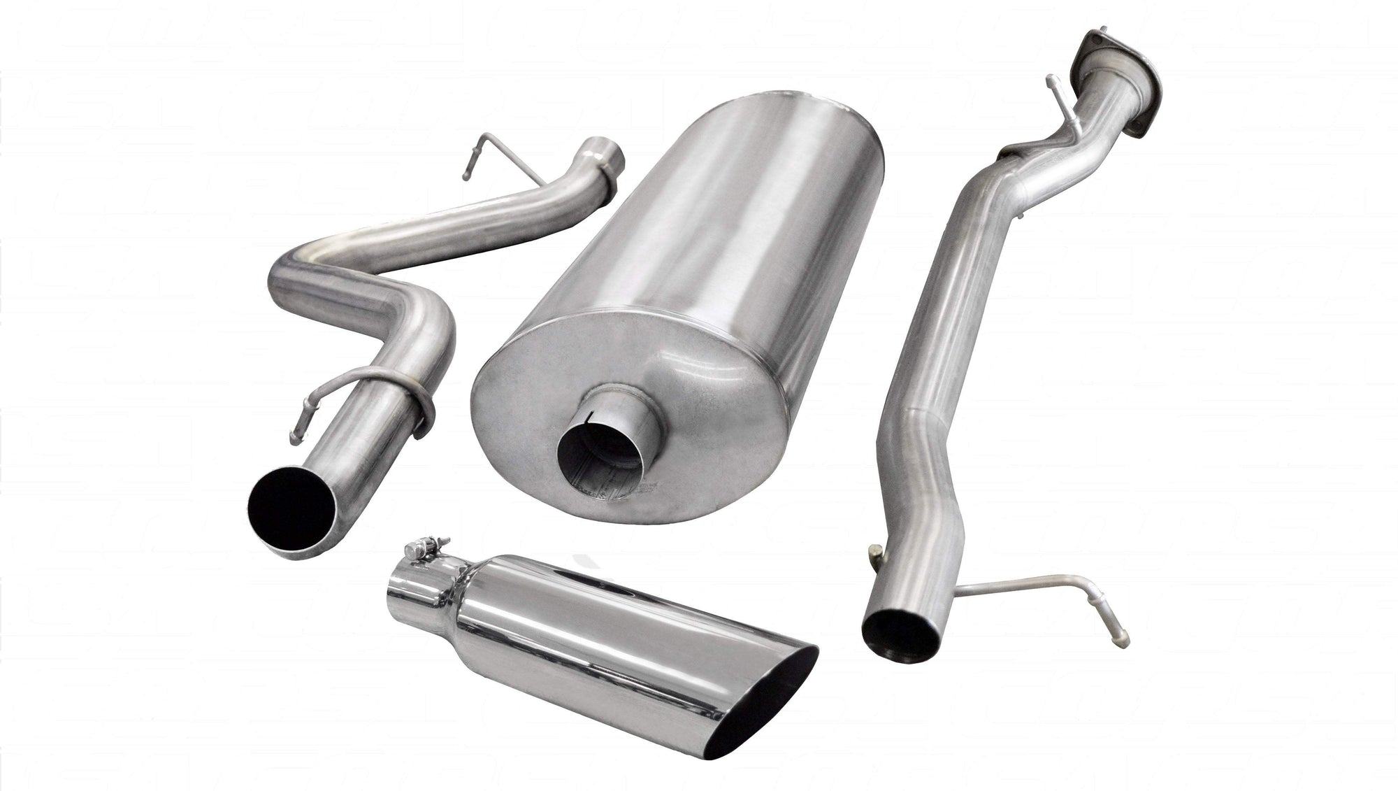"dB Cat-Back Exhaust Polished / Sport / Single Side - Single 4in 3.0"" Single Side Exit Cat-Back Exhaust System with 4.0"" Tip (24898) Sport Sound Level"