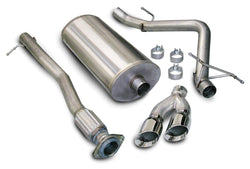 "CORSA PERFORMANCE Cat-Back Exhaust 3.0"" Single Side Exit Cat-Back Exhaust System with Twin 4.0"" Tip (14258) Sport Sound Level"