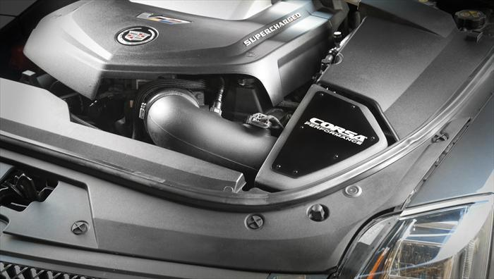 CORSA PERFORMANCE Air Intake 2011-2015 Cadillac CTS-V 6.2L V8 Pro5 Air Intake (415864)