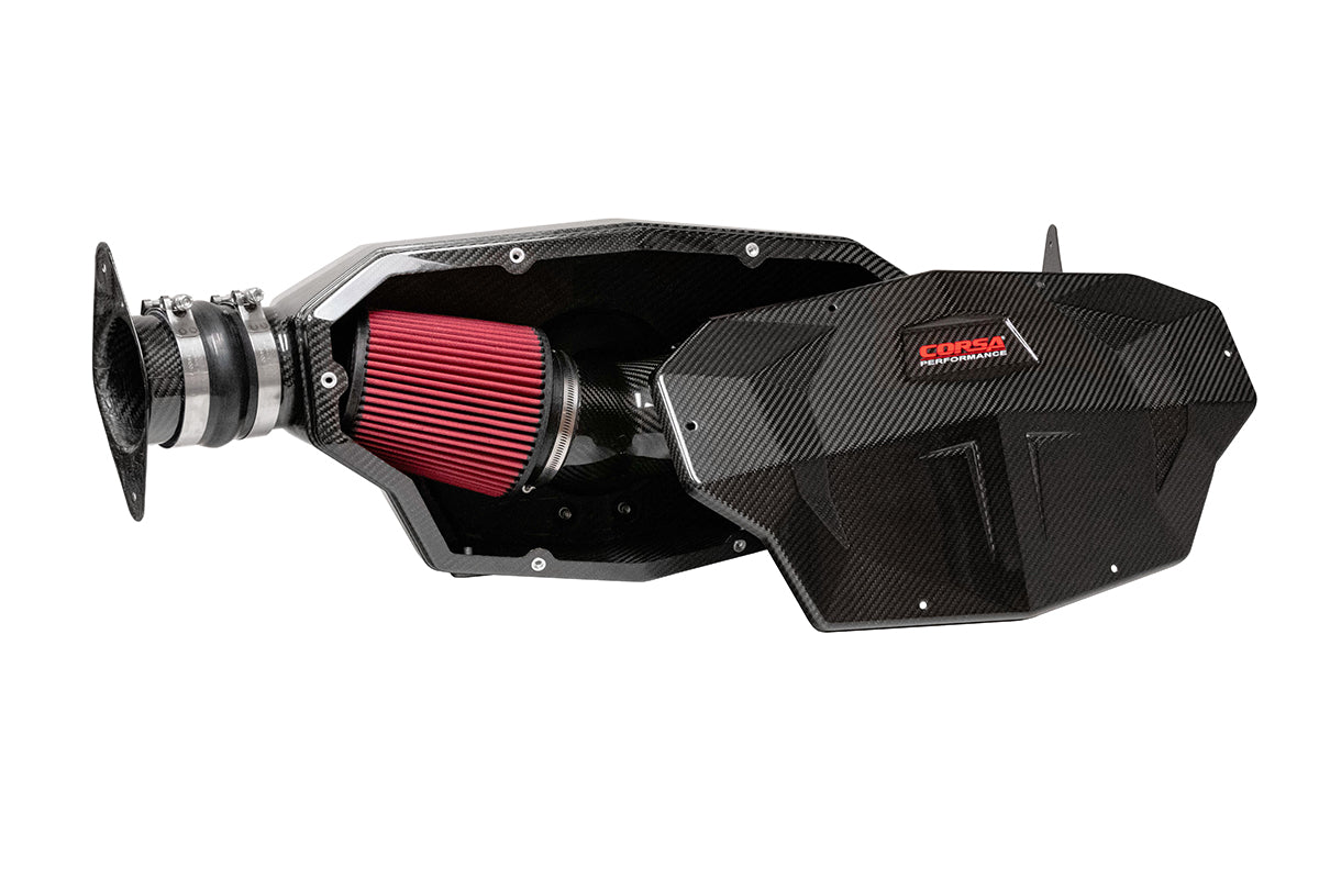 DryTech Filter (44003D) Carbon Fiber Air Intake 2020 Corvette C8