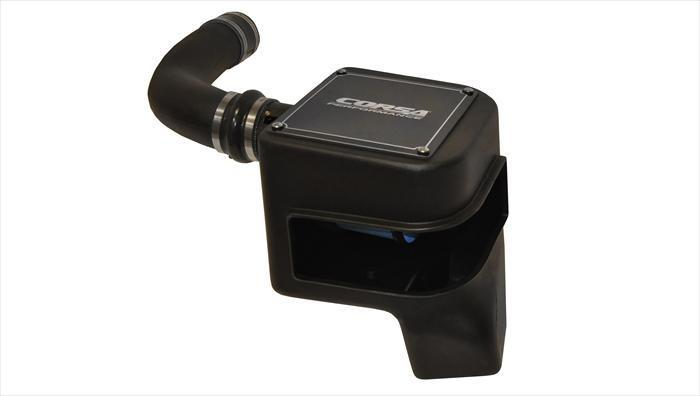 CORSA PERFORMANCE Air Intake 2010 Ford Raptor 6.2L V8 & 2010-2011 F-150 6.2L V8 PowerCore Closed Box Air Intake (44387)