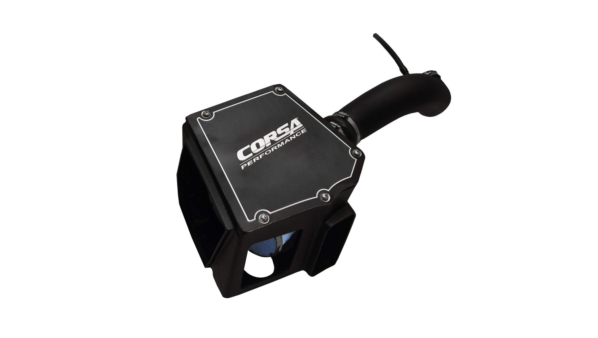 CORSA PERFORMANCE Air Intake 2009-2014 GM Truck, SUV 4.8L, 5.3L, 6.0L, 6.2L V8, PowerCore Closed Box Cold Air Intake (44906)