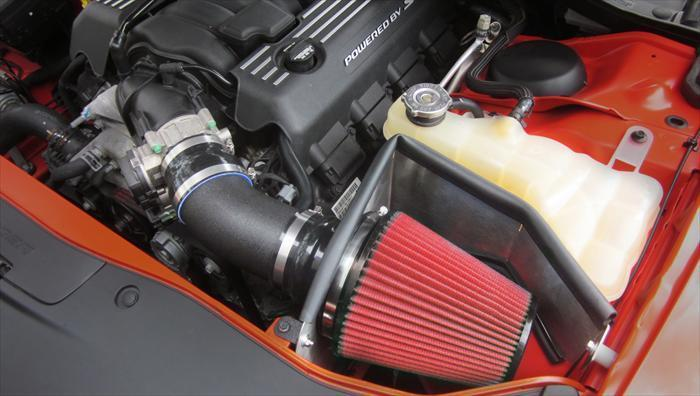 DryTech Filter (616864-D) APEX Metal Air Intake 2011-2021 Challenger, Charger SRT 6.4L