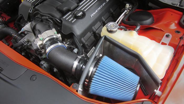 CORSA PERFORMANCE Air Intake 2011-2019 Dodge Challenger, Charger, 6.4L SRT, V8, APEX Series Cold Air Intake with MaxFlow 5 Filter (616864-O)