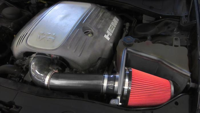 DryTech Filter (616957-D) APEX Metal Air Intake 2011-2021 Challenger, Charger, 300 RT 5.7L