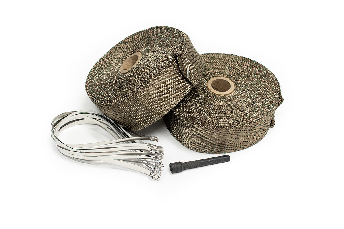 100' Titanium Exhaust Wrap Kit