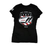 CORSA Women's T-Shirt (Black, Exhaust Tips)