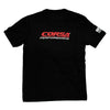 CORSA Men's T-Shirt (Black, Exhaust Tips)