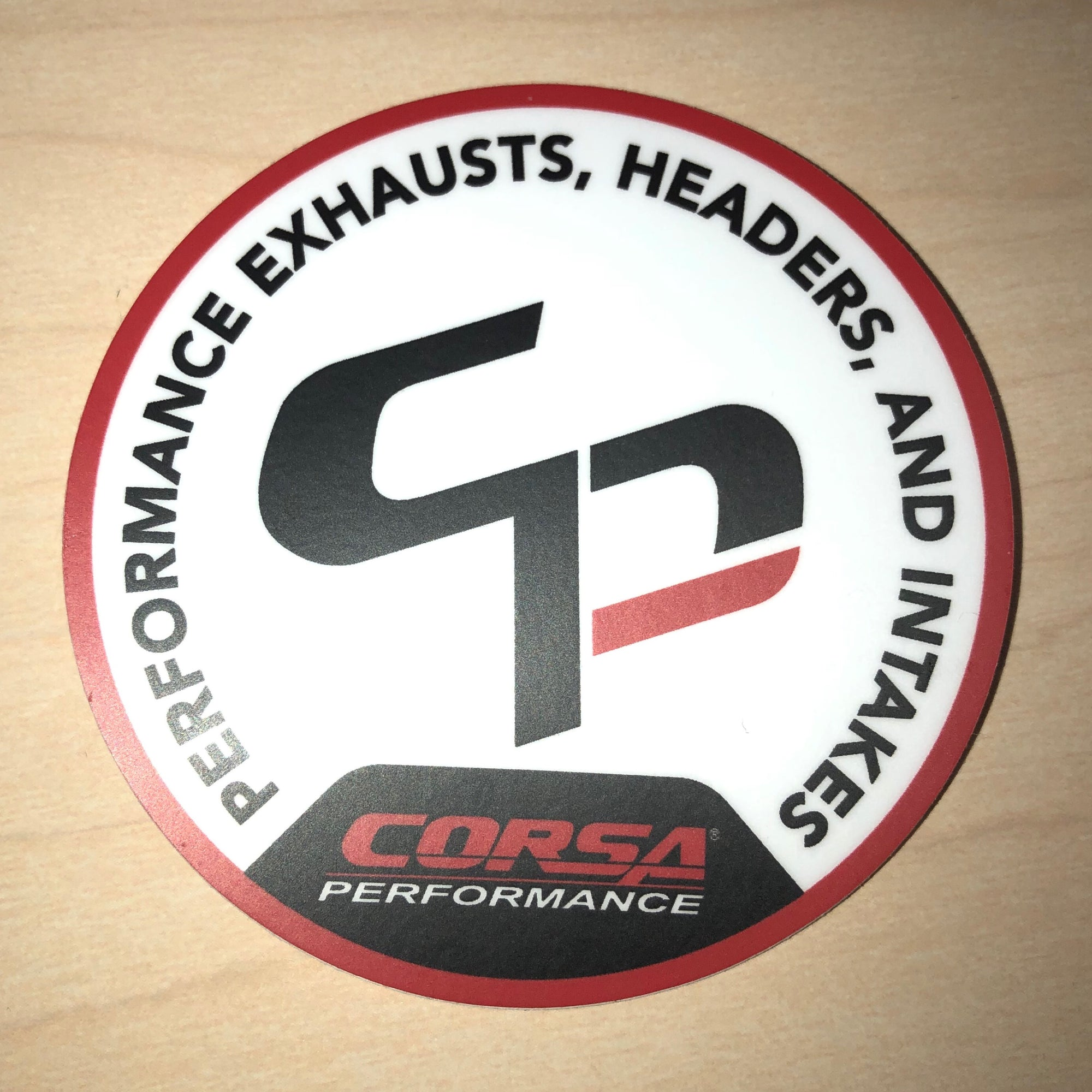 CORSA CP Sticker (Circle)