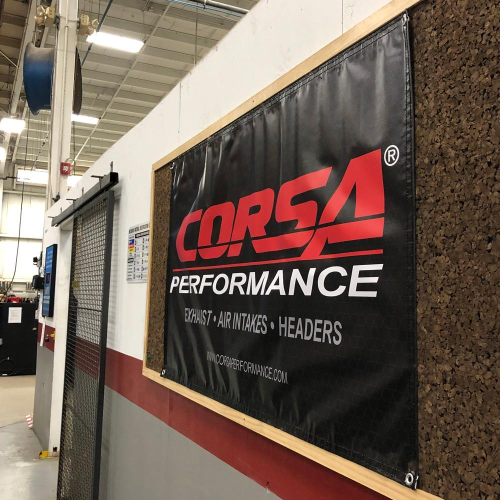 CORSA GEAR SHOP Banner CORSA Banner (Outdoor or Garage)