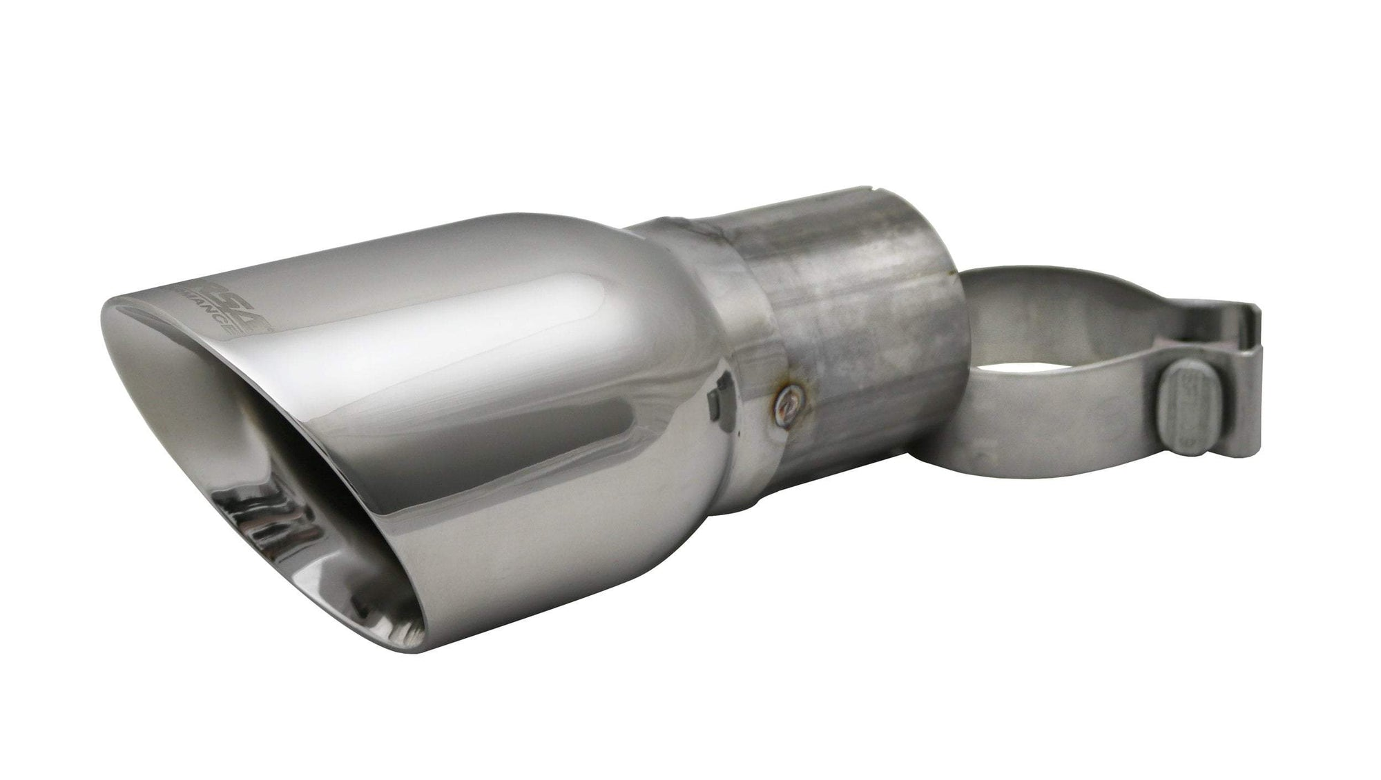 "CORSA PERFORMANCE Tip Kit Polished Tip Kit - Single 4.0"" Tip w/2.75"" diameter pipe (TK005)"
