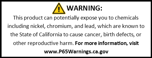 www.P65Warnings.ca.gov