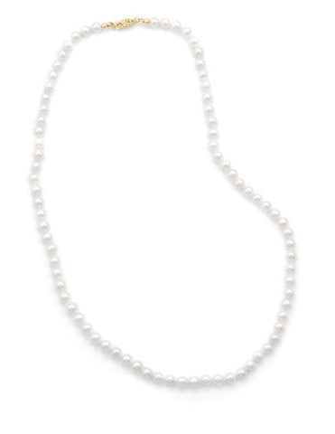 "30"" 5-5.5mm Cultured Freshwater Pearl Necklace"