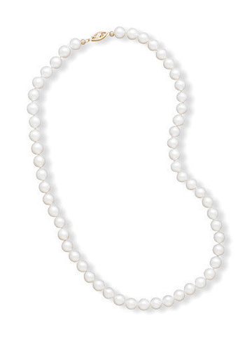 "16"" 6.5-7mm Cultured Freshwater Pearl Necklace"