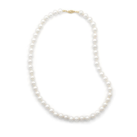"24"" 8.5-9mm Cultured Freshwater Pearl Necklace"