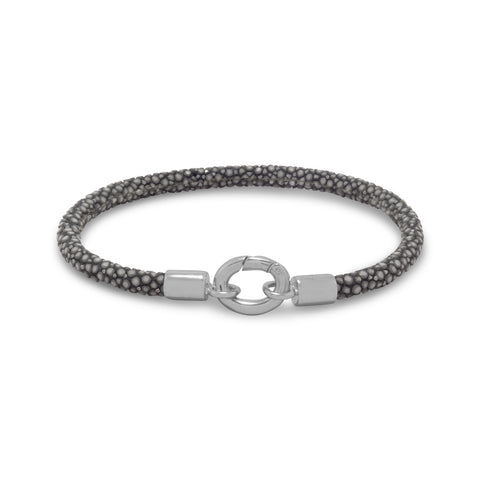 Grey Stingray Bracelet
