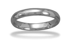 Tungsten Carbide 4mm Ring