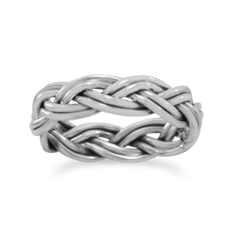 Double Row Braided Band