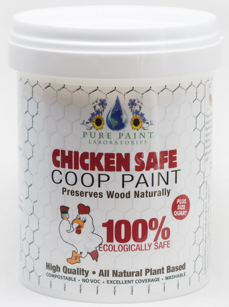 Chicken Safe Coop Paint